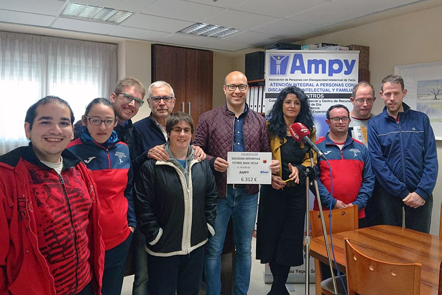 Sorteo beneficio Ampy