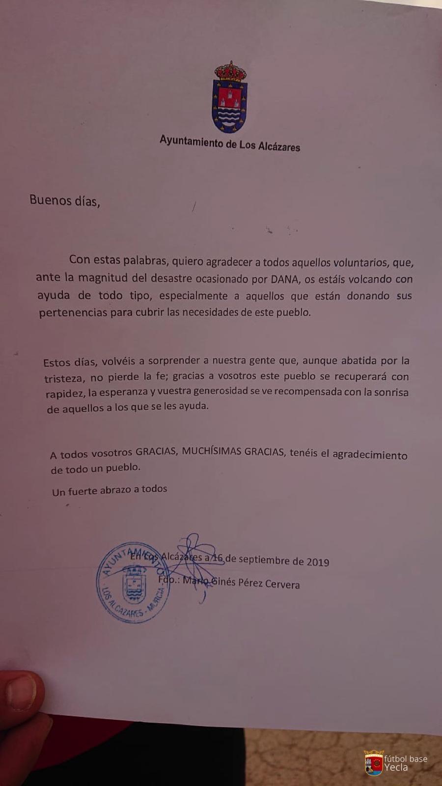 Recogida solidaria Los Alcazares 07