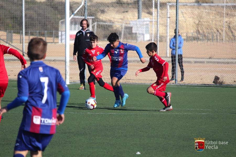 Alevin 1 - Real Murcia 08